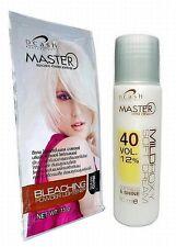 White Hair Bleaching Dye Color Platinum Lightener Lightening Powder Bleach New!!