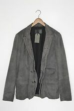 *BRAND NEW* AllSaints Mens AMHERST Leather Blazer Jacket SMALL graft survey (1)