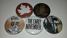 The Early November pin button badges 25mm Ever so Sweet Sunday Drive