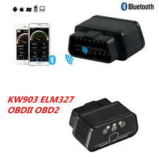 OBDII OBD2 ELM327 Bluetooth Car Auto KW903 Code Reader Scanner Diagnostic Tool