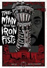 Originl MAN WITH THE IRON FISTS Tarantino RZA Martial Arts WILDING POSTER KNIGHT