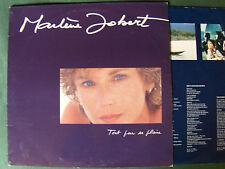 MARLENE JOBERT: Tout pour se plaire  LP French issue 1986 - paroles / lyrics