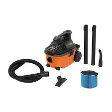 4 Gal Canister Wet Dry Shop Vacuum Cleaner w/ Wheels Garage Vac Heavy Duty New