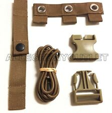 LOT OF 2 Coyote REPAIR KIT FOR MODULAR TACTICAL VEST MTV Scalable Plate Carrier