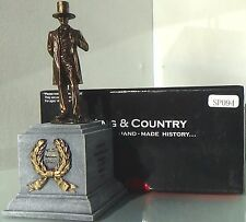 KING & COUNTRY 2016 CHICAGO TOY SOLDIER SHOW PM094 ABRAHAM LINCOLN ON PLINTH MIB