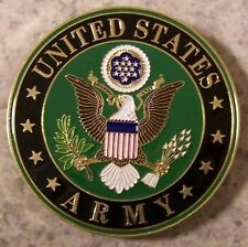 Car Grill Badge Military U S Army NEW metal including mounting hardware