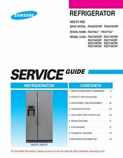 Samsung RS275ACWP RS275ACRS RS275ACPN RS275ACBP Service Manual Repair Guide