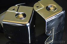 8 Boxenecken Stapelbar Schutzecken PA Metall-Ecken 40 Lautsprecher Kantenschutz
