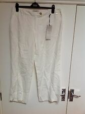 M&S Per Una Roma Sits On The Waist  Loose Fittings Trousers Size: 16 Short