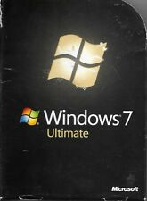 Microsoft Windows 7 Ultimate 32 & 64 bit Full Retail Version FREE SHIPPING