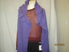 american apparel hooded scarf purple