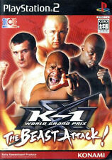 Used PS2 K-1 WORLD GRAND PRIX THE BEAST ATTACK ! Import Japan