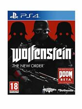 Wolfenstein - The New Order For PAL PS4 (New & Sealed)