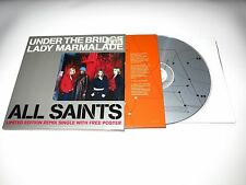 cd-single, All Saints - Under The Bridge / Lady Marmalade Limited Edition Poster