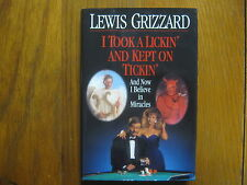 LEWIS GRIZZARD(Died-1994) Signed Book (I TOOK A LICKIN' AND KEPT ON TICKIN'-1993