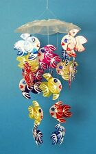 Capiz Shell Fish Windchime / Mobile