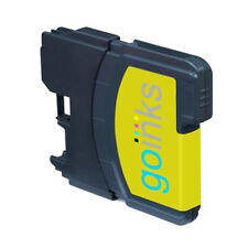 1 Yellow Ink Cartridge for Brother DCP-J125, DCP-J140W, DCP-J315W, DCP-J515W