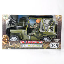 1/6 Scale World Peacekeepers' Military Jeep Vehicle Soldier 90014A Male Figure
