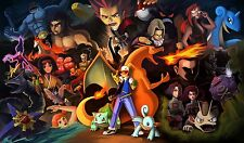 Pokemon Beautiful - Amazing - Huge Poster  22 inch x 34 inch  ( Fast Shipping )