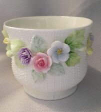 HATHAWAY 'ENGLISH GARDEN COLLECTION' FINE BONE CHINA BOWL/VASE