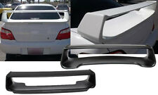 2002-2007 Subaru Impreza WRX STI Rear Trunk Spoiler + LED Brake Light (Plastic)