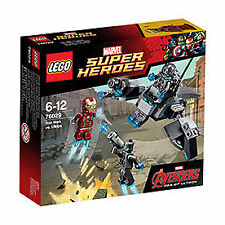 LEGO Super Heroes: 76029 Iron Man vs. Ultron - 4 Figuren Set Comic  NEU & OVP !