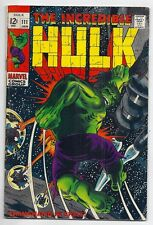 (1968) THE INCREDIBLE HULK #111 HERB TRIMPE ART! 4.0 / VERY GOOD