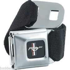 Official FORD MUSTANG seatbelt  Seat Belt style Belt Buckle combo