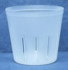 Clear Plastic Pot for Orchids 3 inch Diameter - Quantity 1