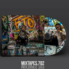 Shy Glizzy - For Trappers Only Mixtape (Full Artwork CD/Front/Back Cover) Law 3