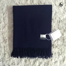 Women Lady Winter Scarf Cashmere Blend Pashmina Solid Tassel Shawl Wrap Scarves
