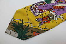 TOMY&JERRY by Iside men's silk neck tie made in Italy