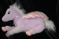"2005 Mattel Barbie Large 17"" Plush BRIETTA Winged HORSE Purple MAGIC Of PEGASUS"