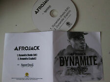 Afrojack Feat. Snoop Dogg - Dynamite - UK 2 Track Acetate Promo 2014