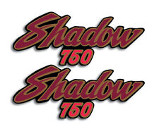 HONDA 1983 1985 VT750 SHADOW 750 BLACK MODEL SIDE COVER DECALS GRAPHICS