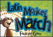 Classical Academic - Latin Monkey Match Flashcard Game