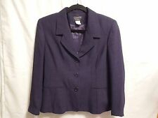 David N.womens dress blazer  jacket size 6 petites dark blue