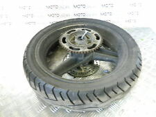 Honda 89 VT 250 Spada rear wheel rim with tyre sprocket spacer and disk rotor