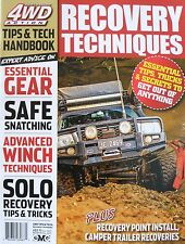 4WD Action Tips & Tech Recovery Techniques Magazine - 20% Bulk Magazine Discount