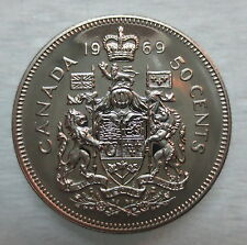 1969 CANADA 50 CENTS PROOF-LIKE COIN
