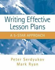 Writing Effective Lesson Plans: The 5-Star Approach