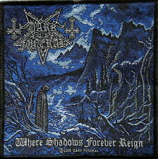 DARK FUNERAL AUFNÄHER / PATCH # 12 WHERE SHADOWS FOREVER REIGN