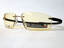 New TAG Heuer TH5202 REFLEX Rimless Sunglasses frames 099 Wide Night Vision 61mm