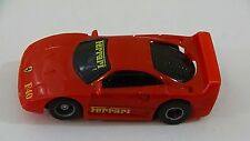 Tyco Red Ferrari F40 Slot Car HO Scale for Electric Racing Tracks #6