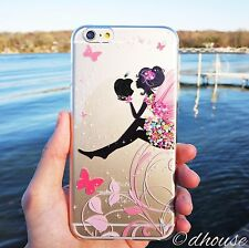 Japanese Hard Shell Clear Case Cute Fairy for iPhone 6 Plus & iPhone 6s Plus