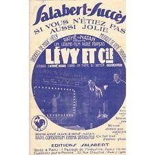 AIMONS-NOUS Valse Paroles Pierre MAUDRU musique Henry VERDUN Edit. SALABERT 1931
