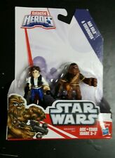 NEW HAN SOLO AND CHEWBACCA - Star Wars Galactic Heroes Figure 2-Pack - FREE SHIP