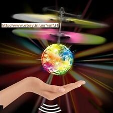 NewFlying RC Ball Infrared Flash Aircraft Flashing Light Remote Toys For Kids