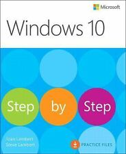 Joan Lambert - Windows 10 Step By Step (2015) - New - Trade Paper (Paperbac