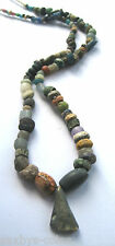 circa.300 B.C Ancient Egypt PTOLEMAIC Period Faiance & Glass Necklace Bead Set
